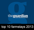 Guardian Top 10 Farmstays 2013